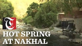 Have a look at Al Thowarah spring in Nakhal