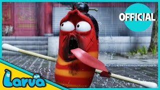 LARVA - KUNG FU | 2016 Full Movie Cartoon | Cartoons For Children | LARVA Official