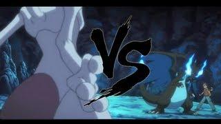 Pokémon El Origen | Mega Charizard X vs Mewtwo + link de descarga de la película