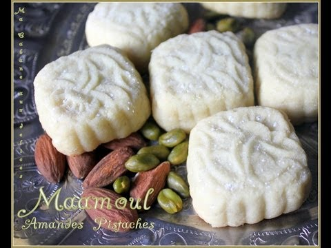 Maamoul aux pistaches Syrian cookies with pistachios from Middle East