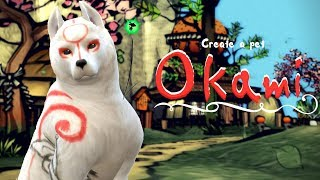 Amaterasu - Okami | The Sims 4 Create a Pet