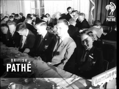 Variety Club Luncheon - Anglo / U.S. Boys (1954)
