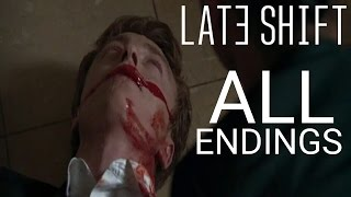 Late Shift ALL ENDINGS | Every Ending | Matt Death | May-Ling Death | Good & Bad Ending (PS4 PRO)