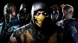 Mortal Kombat X 4K Game Movie (All Cutscenes) UltraHD