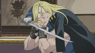FullMetal Alchemist: Brotherhood General Armstrong VS Major Armstrong (1080p)
