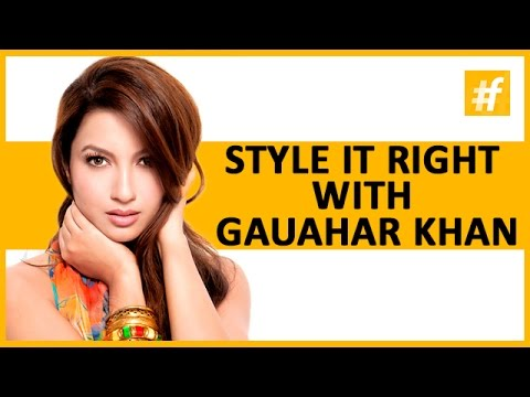 Style Tips From The Style Icon Gauahar Khan For Valentine's Day | Celeb Of The Day