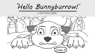 The Arrival   Hello Bunnyburrow! Episode 1 [Zootopia Comic Dub]