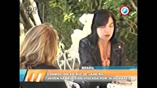 Conmoción en Brasil: joven habría sido violada por 30 hombres -  27/05/2016