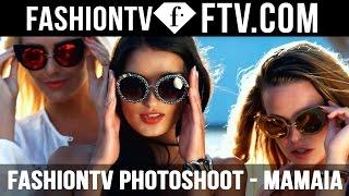 Sexy Photoshoot on Mamaia Beach with the FashionTV Models   FTV.com
