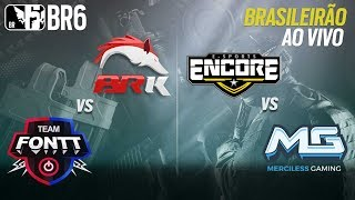 #BR6 SEASON 2 - BRK VS TEAM FONTT e ENCORE vs MERCILESS - Grupo A (Rodada 1)