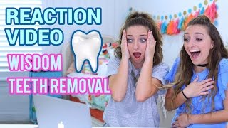Identical Twins React to Their Wisdom Teeth Video | Funny Reactions