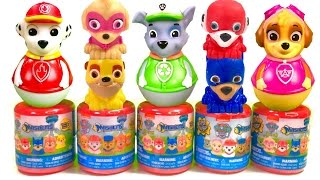 Best Learning Colors Video for Children - Paw Patrol Super Pup Mashems and Weebles