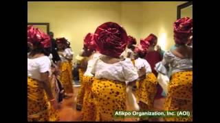 AOI 2012 Festival Women's Cultural Dance
