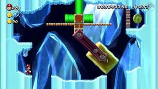 Superstar Road-4 Hammerswing Caverns [New Super Mario Bros Wii U]