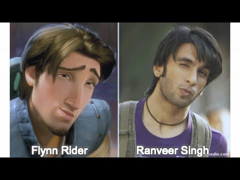 Cartoon Characters As Bollywood Celebrities