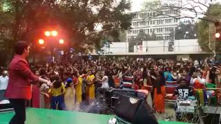 Indian Girls dance in college- dekha jo tujhe yaar dil mein baji guitar