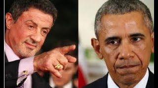 SYLVESTER STALLONE SAYS OBAMA WAS PUT IN OFFICE TO INTENTIONALLY WEAKEN AMERICA!