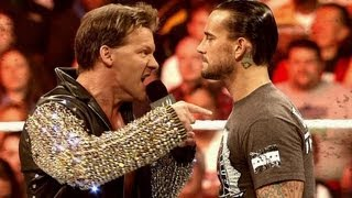 CM Punk and Chris Jericho will compete for the WWE Championship