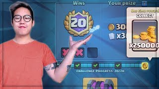 I GOT 20 WINS FIRST TRY!   Best Deck - Miner Control   Clash Royale