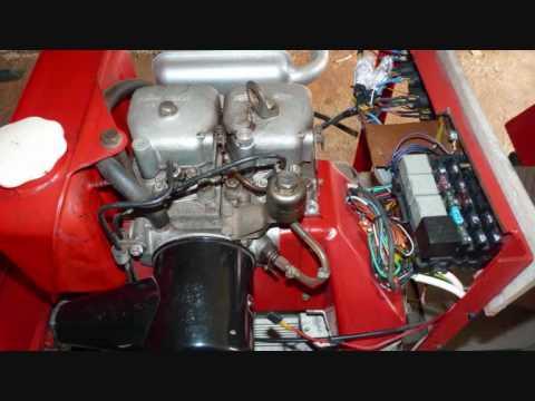 Silnik ANDORIA 2CA90 3 .Przekładka silnika S301D na 2CA90.