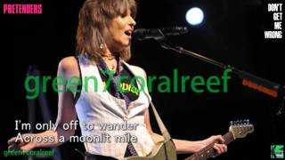 Don't Get Me Wrong - The Pretenders 《with Lyrics》 プリテンダーズ《歌詞付き》