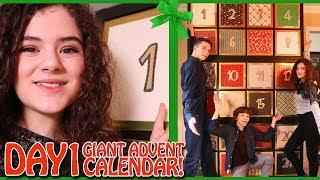 GIANT Advent Calendar Day 1 Christmas Countdown 2017