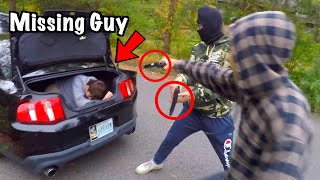 Saved Missing Guy From Trunk Of Stolen Car