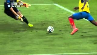 2014 FIFA World Cup ~ Group Stage ~ Honduras 1 - 2 Ecuador