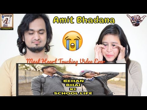 Xxx Mp4 Behan Bhai Ki School Life Most Heart Touching Amit Bhadana WARNING Make You Cry Reaction 😭 3gp Sex