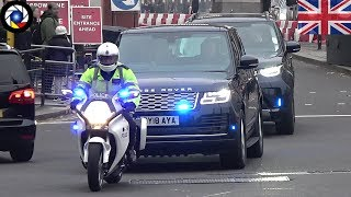 Metropolitan Police SEG Convoy