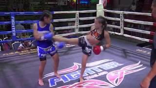 Jodie Mccarthy (Tiger Muay Thai) vs Petwarin Gor Adisak