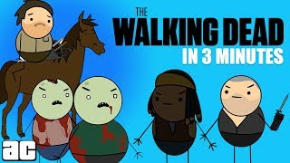 The Story of The Walking Dead In 3 Minutes!   Storylines in 3 @ArcadeCloud