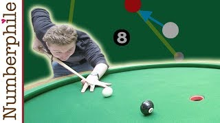 A Game for the Elliptical Pool Table - Numberphile