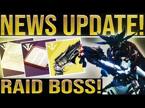 """Destiny 2. RAID BOSS! End Game, Hidden Quests, D2 Thorn, Fallen Raid Mods """"Taken Butter"""" & More!"""