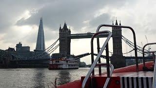 River Thames Rockets Speedboat Ride, London, UK