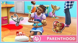 Let's Play The Sims 4 | ✨PARENTHOOD✨ | Part 2 // Playing Doctor!🏥💉