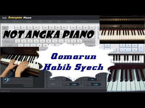 Download Not Angka Sholawat Qomarun l Almunsyidin free