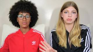 INTERRACIAL STEREOTYPES | LESBIAN COUPLE