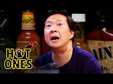 Xxx Mp4 Ken Jeong Performs A Physical While Eating Spicy Wings Hot Ones 3gp Sex