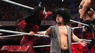 Los Matadores vs. Heath Slater & Drew McIntyre: Raw, June 2, 2014