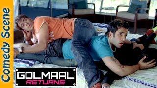 Golmaal Returns Comedy Scene - Ajay Devgan - Arshad Warsi - Kareena Kapoor