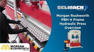 PBH H Frame Hydraulic Press