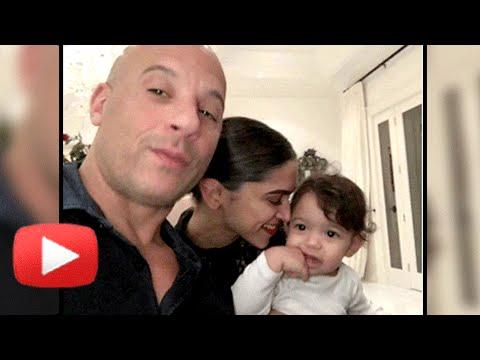 Xxx Mp4 Awwdorable Deepika Padukone With Vin Diesel S Daughter Pauline 3gp Sex