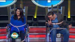 Victoria Ruffo y César Évora se enfrentan en la Silla Eléctrica.