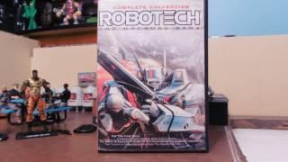 ROBOTECH MACROSS SAGA ANIME REVIEW!