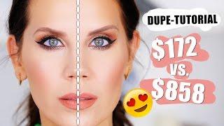 FULL FACE OF DUPES | Drugstore vs. Highend