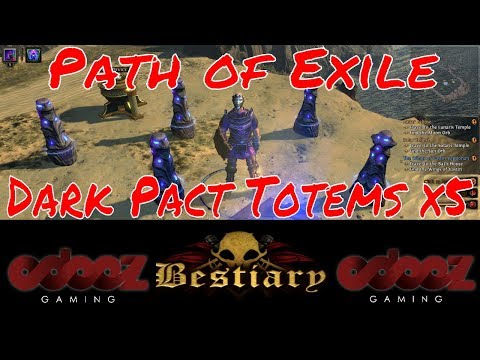 Path Of Exile 3 2 Soul Mantle Dark Pact 5x Totems Bestiary Pokemon Lets Play Road To