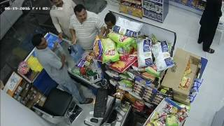 Thief in Al khobar, saudi arabia - trick cashier and fraud him 500 riyal