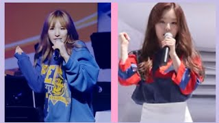 Irene vs Wendy Rap live