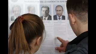 Putin re-elected in Russia with large margin